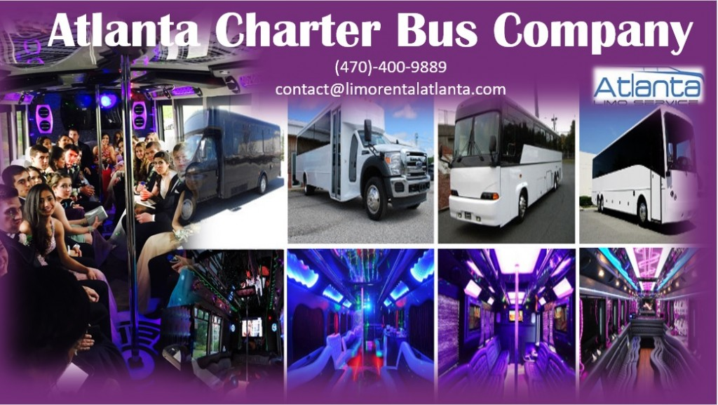 Charter Bus Rental Atlanta