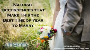 Magical Times of the Year to Get Married