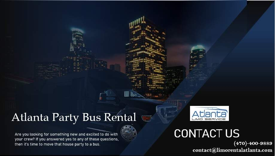 Party Bus Rental Atlanta