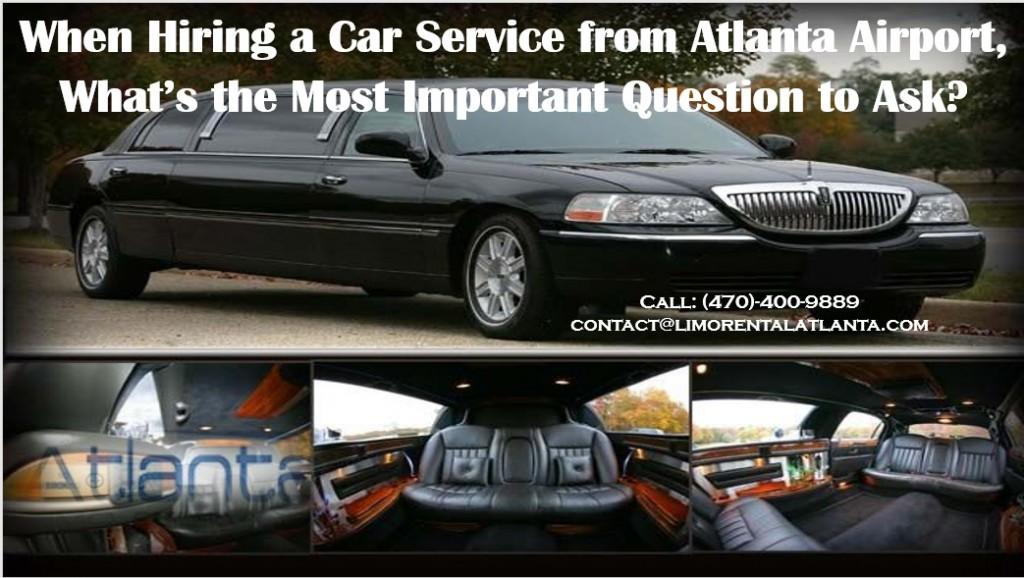 Car Service from Atlanta Airport
