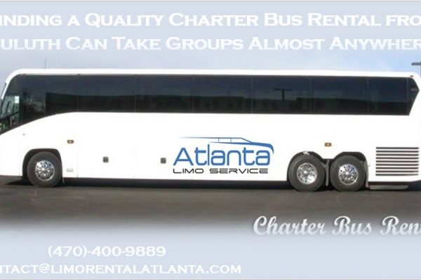 Charter Bus Rental Duluth