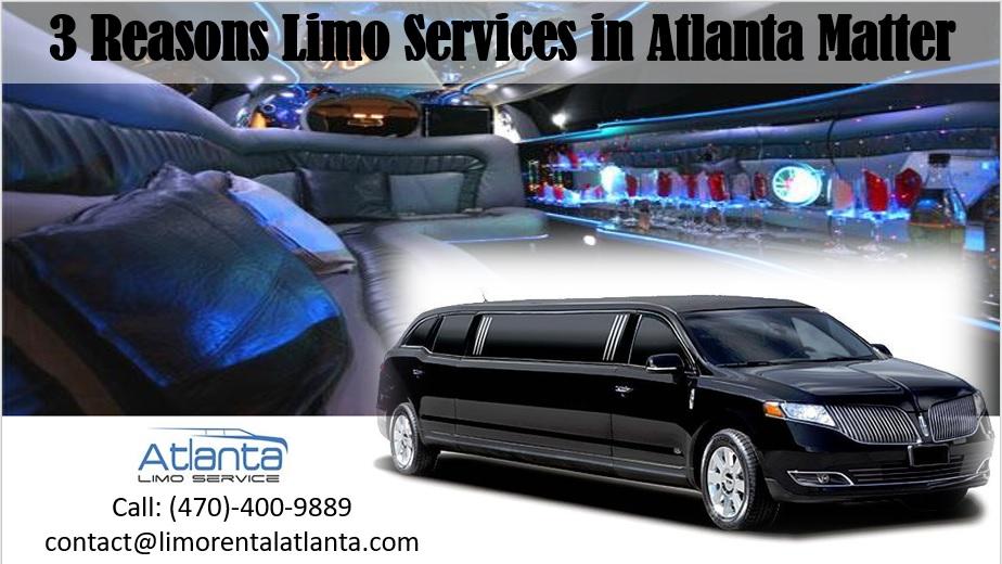 Limo Services in Atlanta