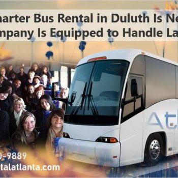 Charter Bus Rental Service Duluth