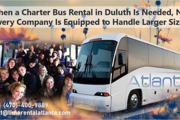 Charter Bus Rental Service Duluth